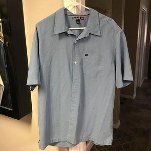 Quiksilver Men's Collared Short Sleeve Shirt